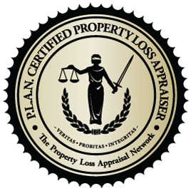 PLAN certified property loss inspector